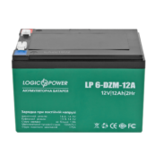 Аккумулятор тяговый LogicPower 6DZM12 12V 12Ah - Фото 1
