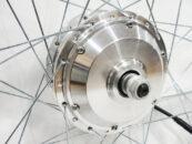 Мотор-колесо MXUS XF04 36-48V 350W переднее редукторное - Фото 1