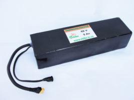 Аккумулятор литиевый 48V 9Ah - 24Ah текстолитовый корпус - Фото 1