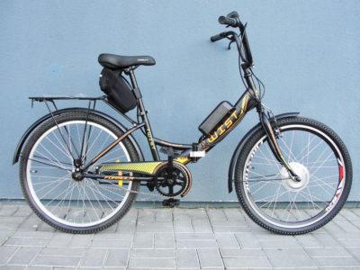 Электровелосипед складной