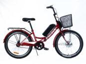"Электровелосипед складной 24"" Smart 36V 350W - Фото 1"