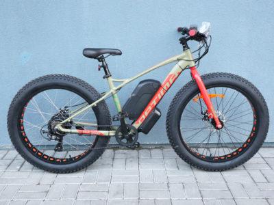 """Электро-фэтбайк Optimabike 26"""" 48V 1000W 17.5Ah - Фото 5"""