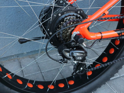 """Электро-фэтбайк Optimabike 26"""" 48V 1000W 17.5Ah - Фото 7"""