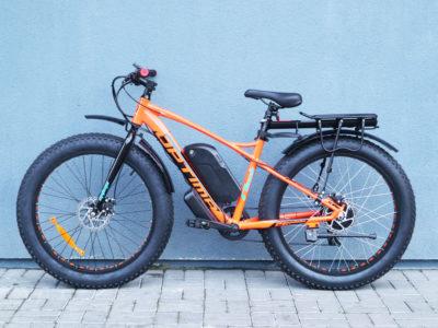 """Электро-фэтбайк Optimabike 26"""" 48V 1000W 17.5Ah - Фото 6"""