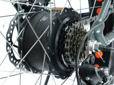 """Электро-фэтбайк Optimabike 26"""" 48V 1000W 17.5Ah - Фото 3"""