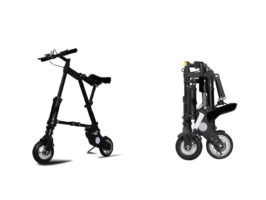Электровелосипед складной A-Bike - Фото 1