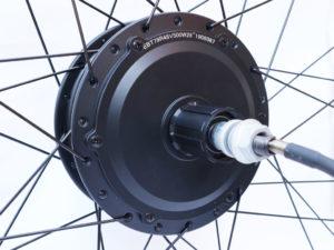 Мотор-колесо Ebike T79C 48V 500W заднее редукторное под кассету - Фото 1