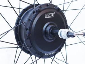 Мотор-колесо MXUS XF08 350W заднее редукторное - Фото 1