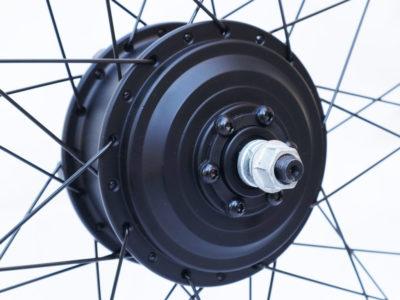 Мотор-колесо MXUS XF08 350W заднее редукторное - Фото 2