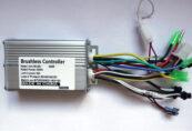 Контроллер 24V-36V-48V 350W под LCD дисплеи SW - Фото 1
