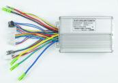 Контроллер 36-48V 500W 20A под ручку газа с индикатором - Фото 1