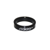"""Проставочное кольцо NECO, под вынос руля, черное, 1-1/8"""", 10 мм - Фото 1"""