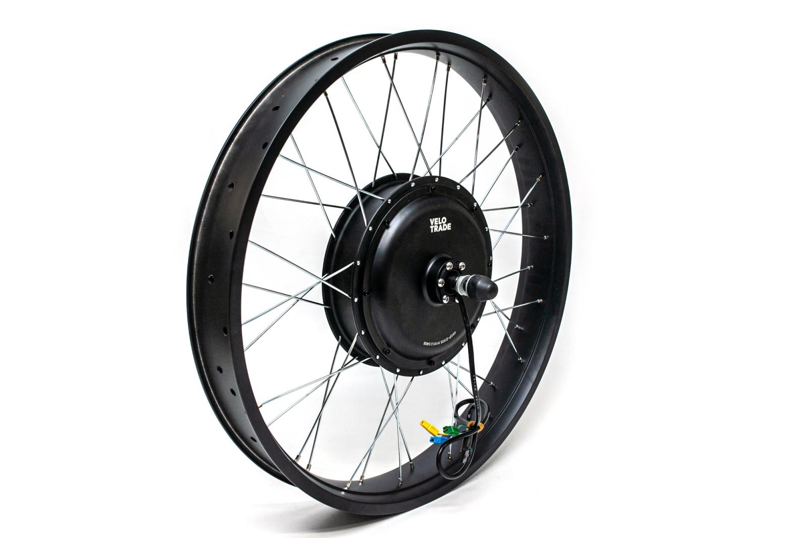 """Мотор-колесо 48-72V 1000W 26х4.0"""" заднее прямоприводное для фэтбайка"""